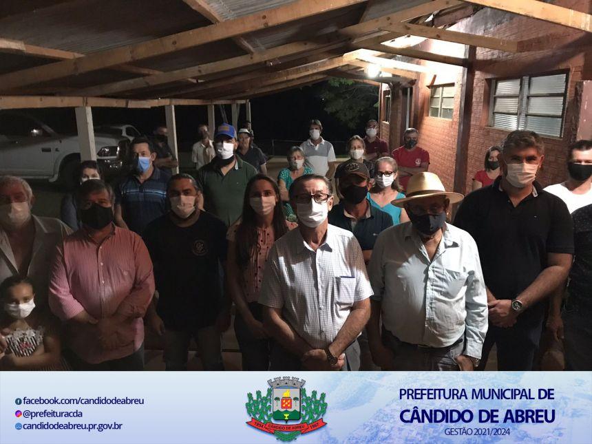 NOVA DIRETORIA DA ASSOCIAÇÃO DA ÁGUA NA COMUNIDADE UBAZINHO