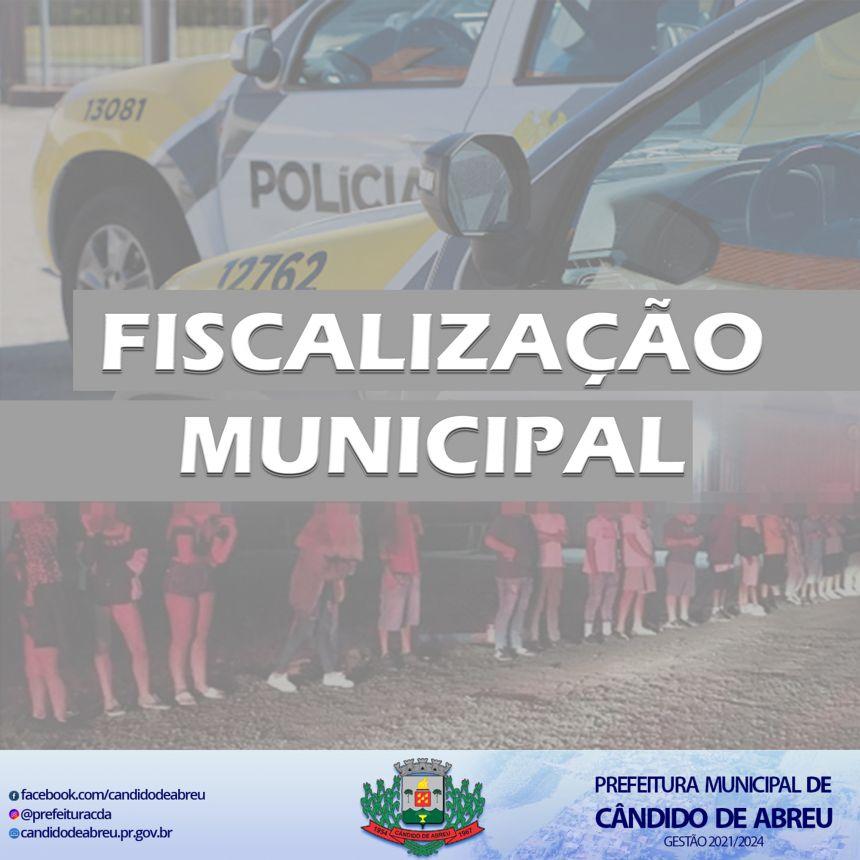 FISCALIZAÇÃO MUNICIPAL APLICA MULTAS NO FERIADO PROLONGADO DE PÁSCOA.