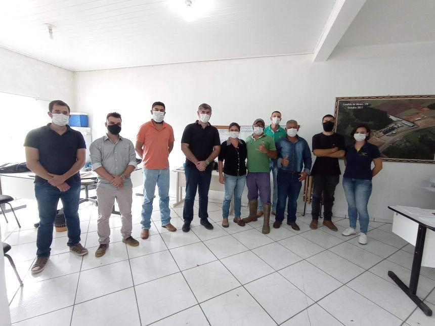 REUNIÃO COM SECRETARIA DE MEIO AMBIENTE E AGRICULTURA