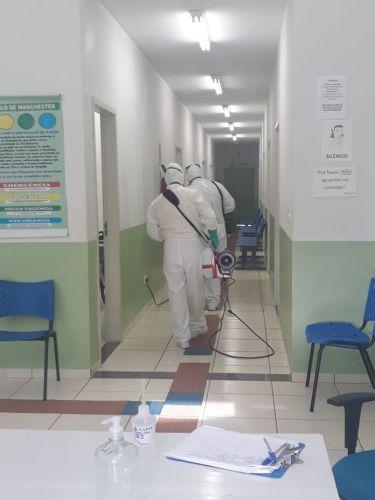 Sanitização e Higienização contra COVID-19