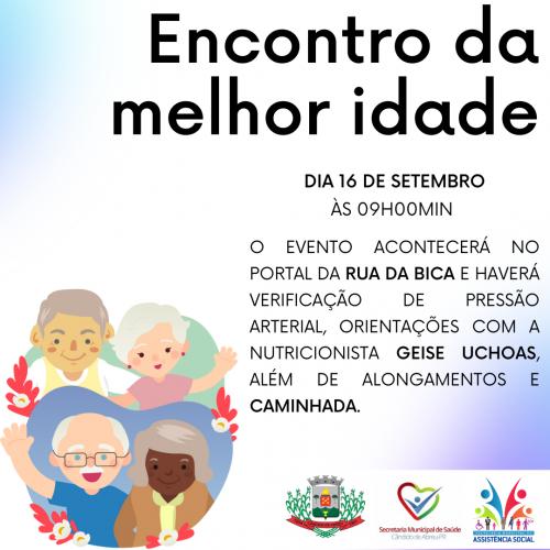 SECRETARIAS DE SAÚDE E ASSISTÊNCIA SOCIAL PROMOVEM O EVENTO