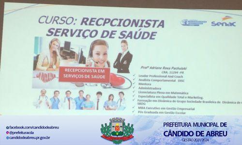 SECRETARIA DE ASSISTÊNCIA E PROMOÇÃO SOCIAL DÁ INÍCIO AO CURSO DE RECEPÇÃO EM SERVIÇO DE SAÚDE