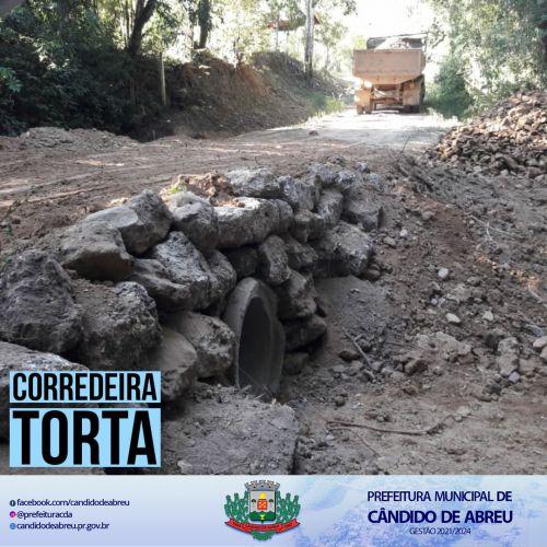 BUEIRO - CORREDEIRA TORTA