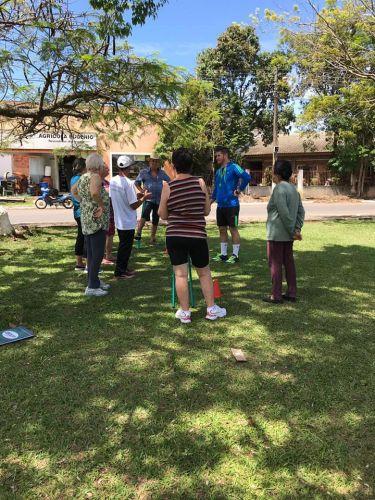 Atividades físicas, recreativas e rítmicas com a terceira idade