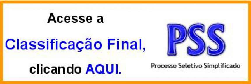 Prefeito Municipal de Alto Piquiri, Homologa resultado da Classificação Geral do Processo Seletivo Simplificado.