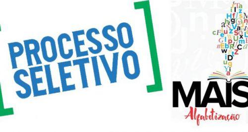 EDITAL PROCESSO SELETIVO-PROGRAMA MAIS ALFABETIZAÇÃO 01/2018