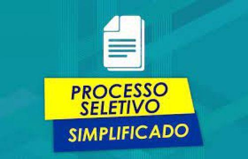 PROCESSO SELETIVO SIMPLIFICADO