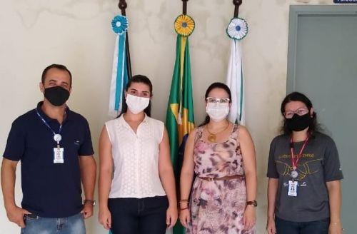 Guapirama promovendo parcerias para a formação profissional