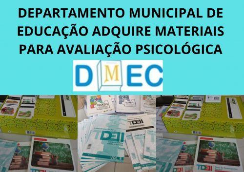 DEPARTAMENO MUNICIPAL DE EDUCACAO