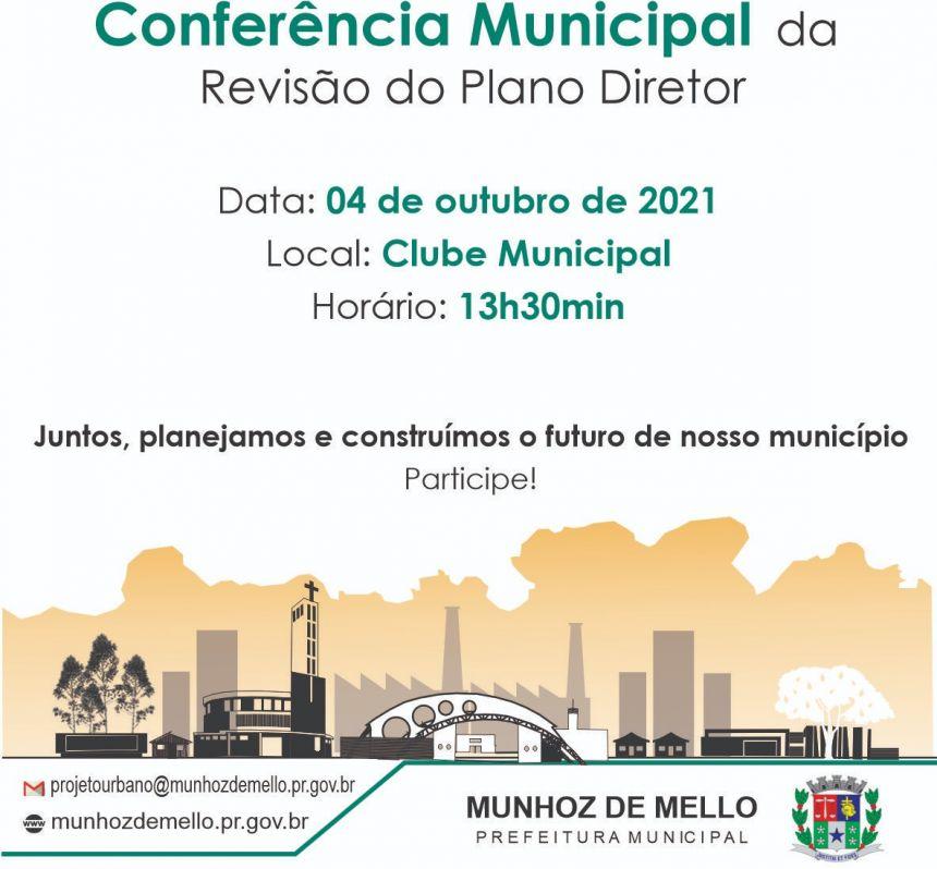 CONFERÊNCIA MUNICIPAL DA REVISÃO PLANO DIRETOR