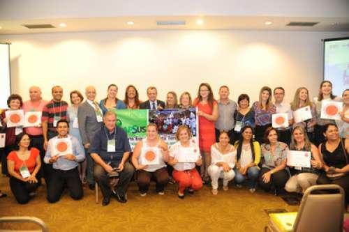 Unidade de Saúde recebe premiação em Foz do Iguaçu