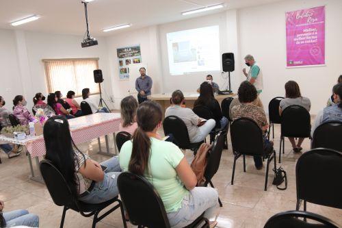 OUTUBRO ROSA - SEMINÁRIO DE QUALIDADE DO LEITE PARA MULHERES.
