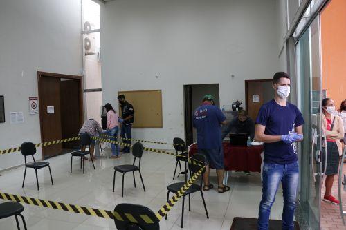 Parceria Prefeitura/Caixa, facilita acesso dos mais necessitados ao auxílio emergencial do governo federal.