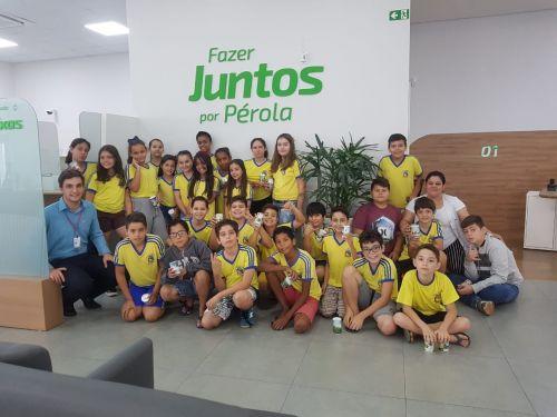 """Educação Financeira atrai atenção de alunos do Projeto """"A União Faz a Vida""""."""