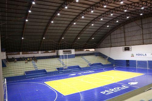 Iluminação Ginásio de Esportes