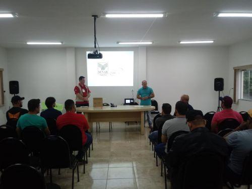 Secretaria de Agricultura inicia Curso de Operador de Pá Carregadeira em Pérola