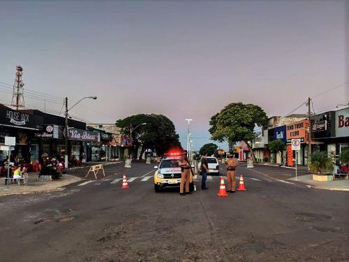 Ação Integrada fiscaliza aglomerações em Pérola