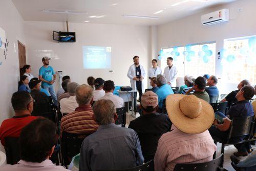 Dia da Saúde do Homem é realizado em Pérola