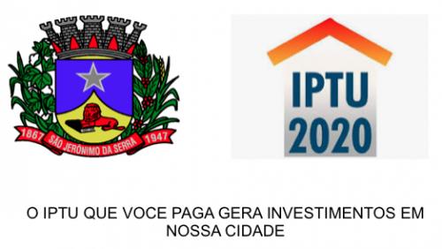 PARCELAMENTO IPTU 2020
