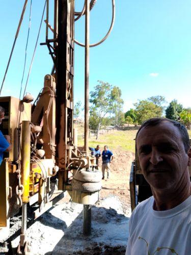 Perfuração de Poço Artesiano no Patrimônio do Santa Maria do Rio do Peixe