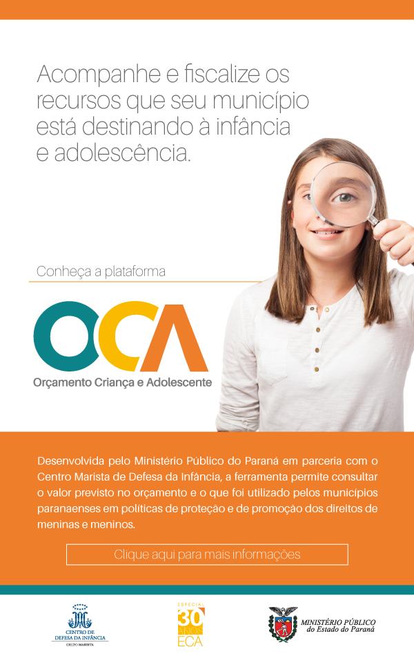 Plataforma Orçamento Criança e Adolescente (OCA)