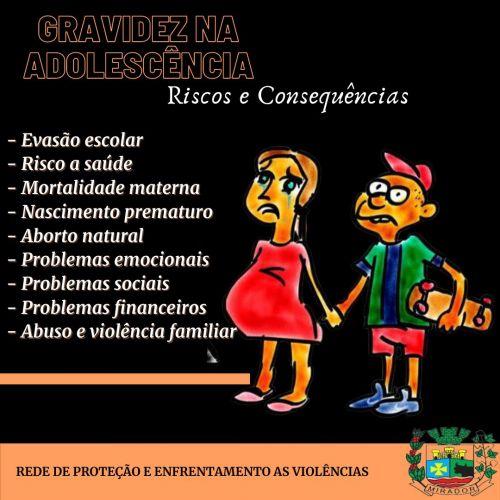 Semana Nacional de Prevenção a Gravidez na Adolescência!