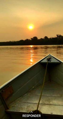 Rio Ivai - Por do Sol