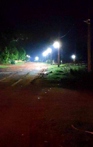 ILUMINACAO DE LED NA AVENIDA TAQUARI