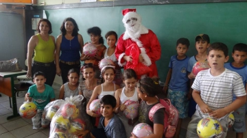 Chegada do Papai Noel