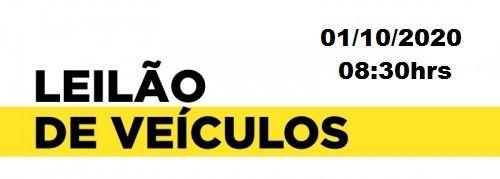 LEILÃO DE VEÍCULOS