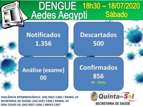 BOLETIM INFORMATIVO DIÁRIO 18/07/2020