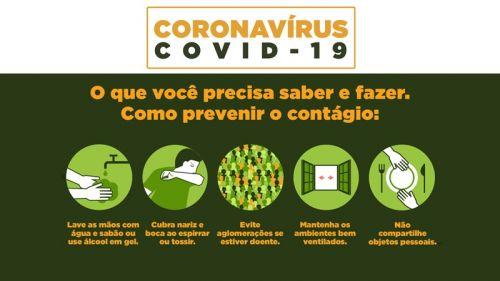 PREVINA-SE CONTRA O CORONAVÍRUS (COVID-19)