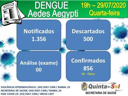 BOLETIM INFORMATIVO DIÁRIO 29/07/2020