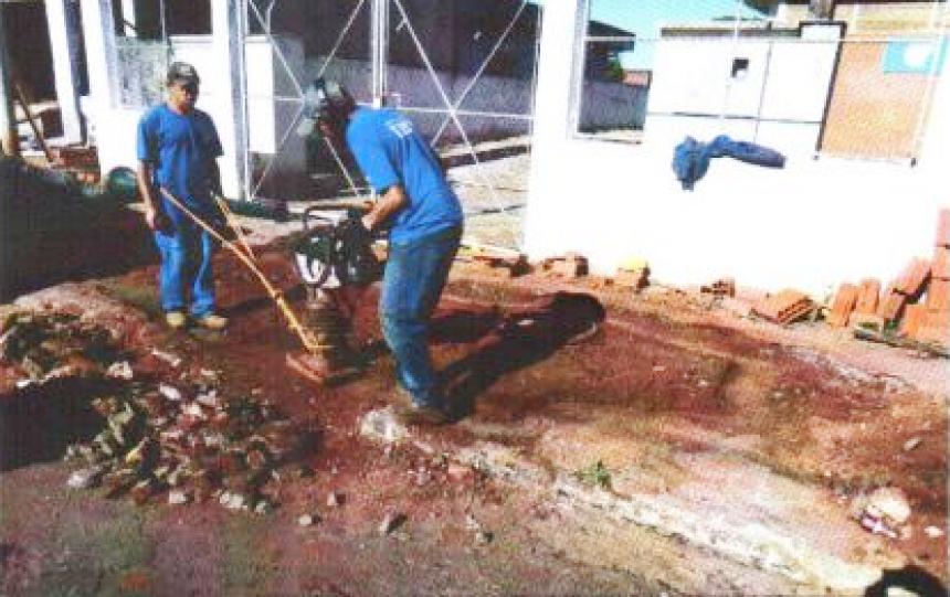 EXECUÇÃO DE SISTEMA DE ESGOTAMENTO SANITÁRIO