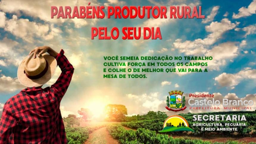 Parabéns a todos os Agricultores do nosso Municipio!!