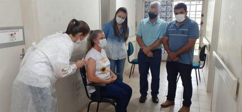 Recebimento da Vacina contra o Coronavírus