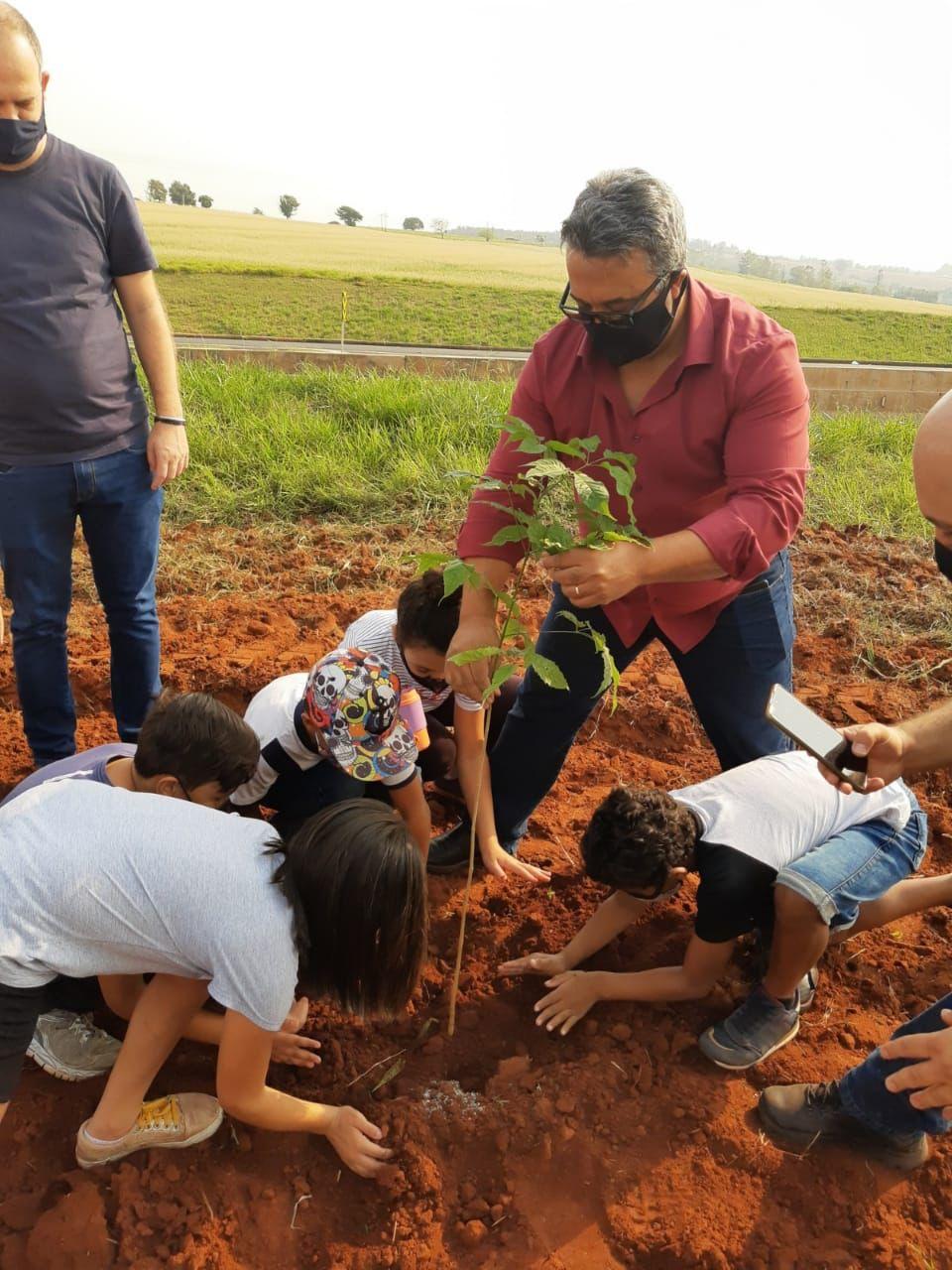 Dia da árvore é celebrado com plantio de mudas em Mandaguaçu