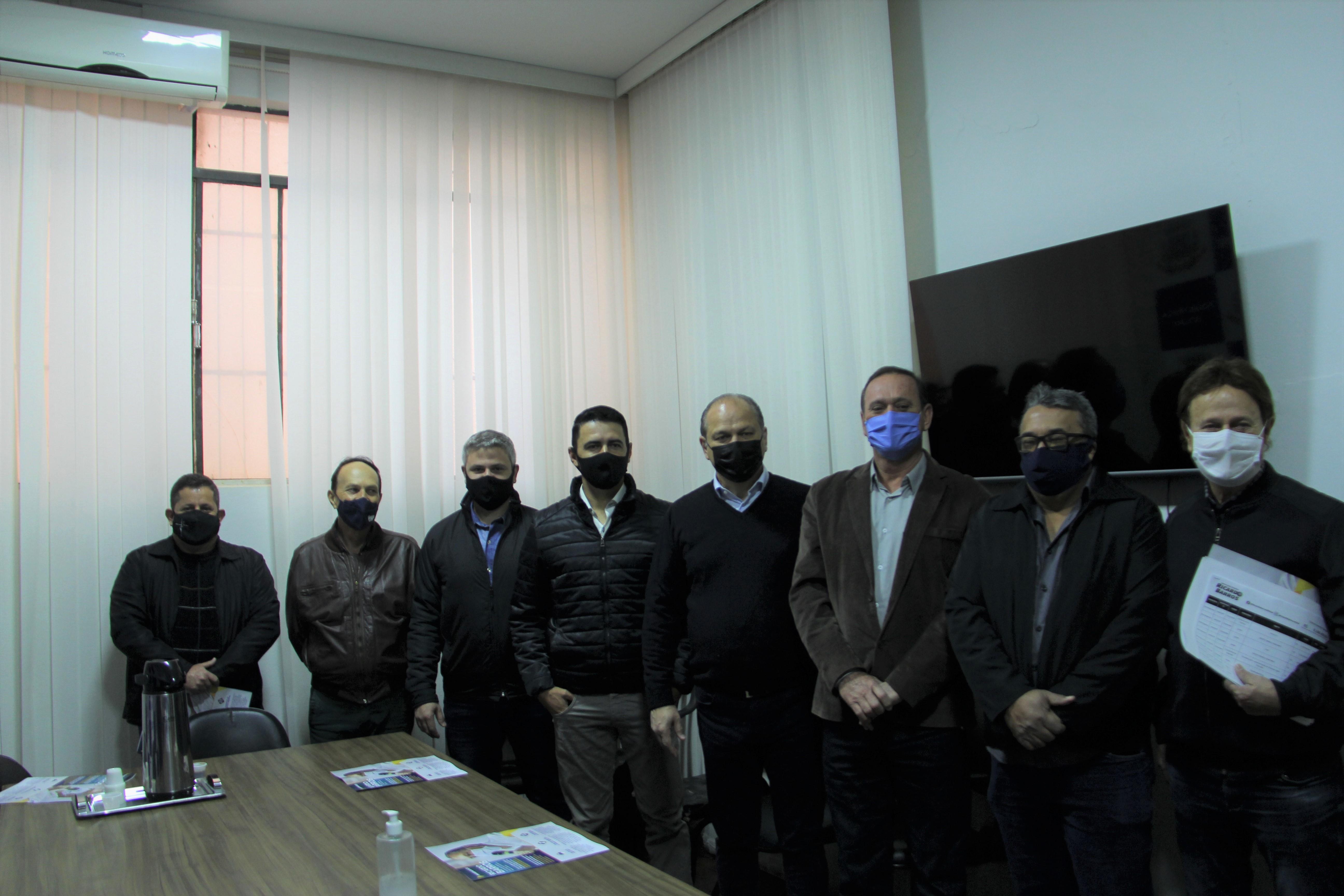 Mandaguaçu recebe visita do Deputado Federal Ricardo Barros
