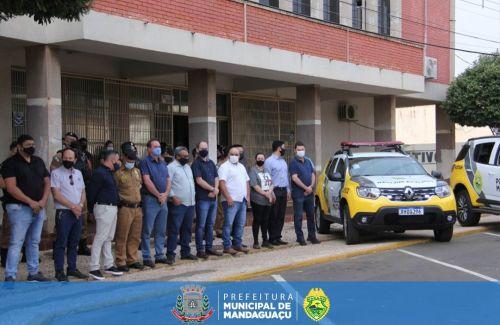 Prefeitura Municipal de Mandaguaçu recebe duas novas viaturas