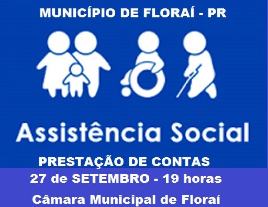 Audiência Pública - Prestação de contas da Assistência Social