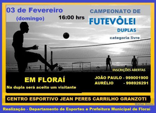 Campeonato de Futevôlei em Floraí