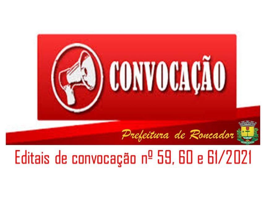 PREFEITURA PUBLICA NOVAS CONVOCAÇÕES DO CONCURSO PÚBLICO