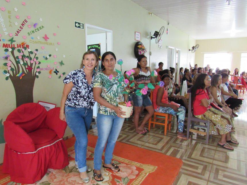 DIA DA BELEZA MARCA ENCERRAMENTO DA SEMANA DA MULHER