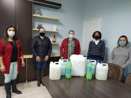 PREFEITURA INICIA DOAÇÃO DE SABÃO PARA FAMÍLIAS DE BAIXA RENDA NA SEGUNDA-FEIRA