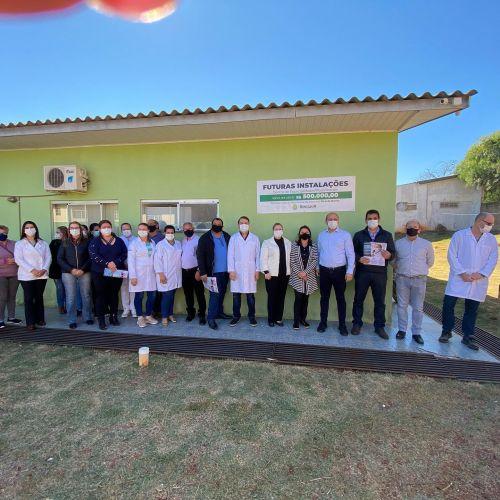 LANÇAMENTO DO PROJETO DO CENTRO DE ESPECIALIDADES E REABILITAÇÃO