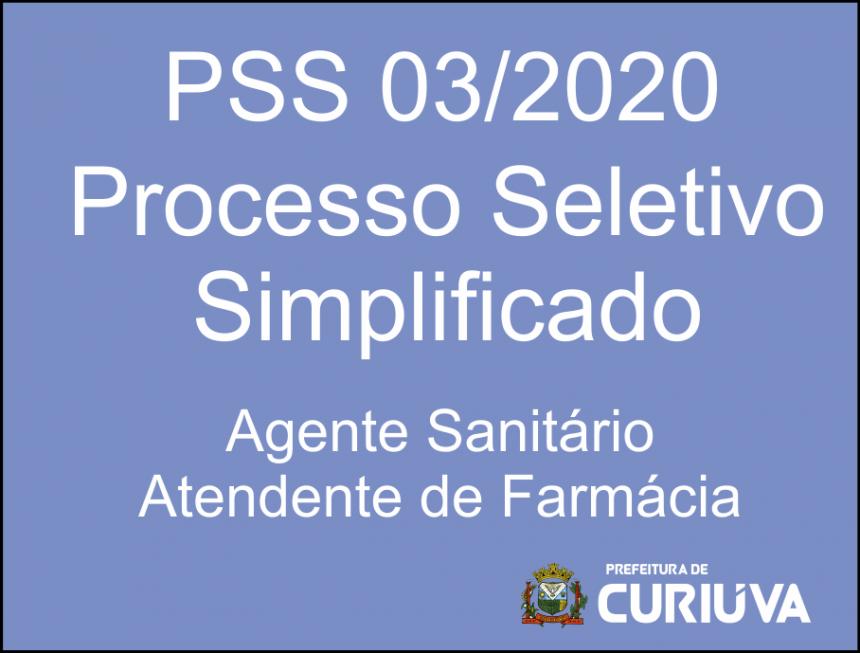 Prefeitura realiza Processo Seletivo Simplificado para contratação de Agentes Sanitários e Atendente de Farmácia