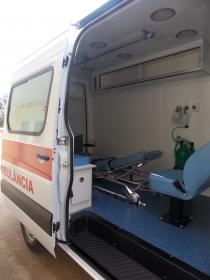 Ambulância 0Km entregue hoje auxiliará prestação de serviços da Secretaria de Saúde