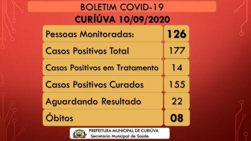 Boletim Covid 10/9