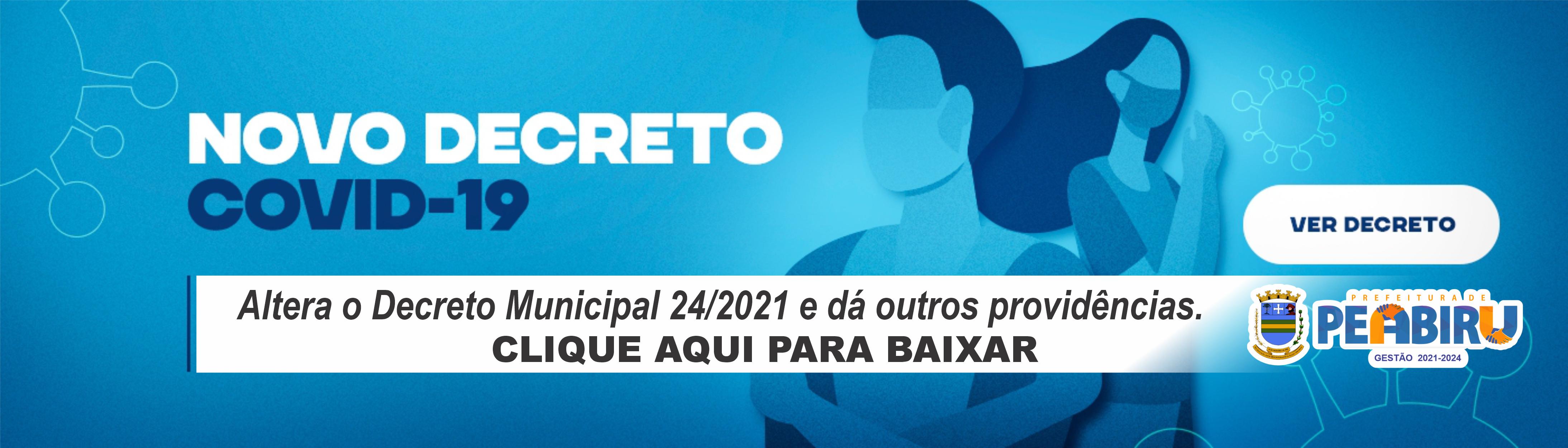 DECRETO 61 DE 31 DE MAIO DE 2021