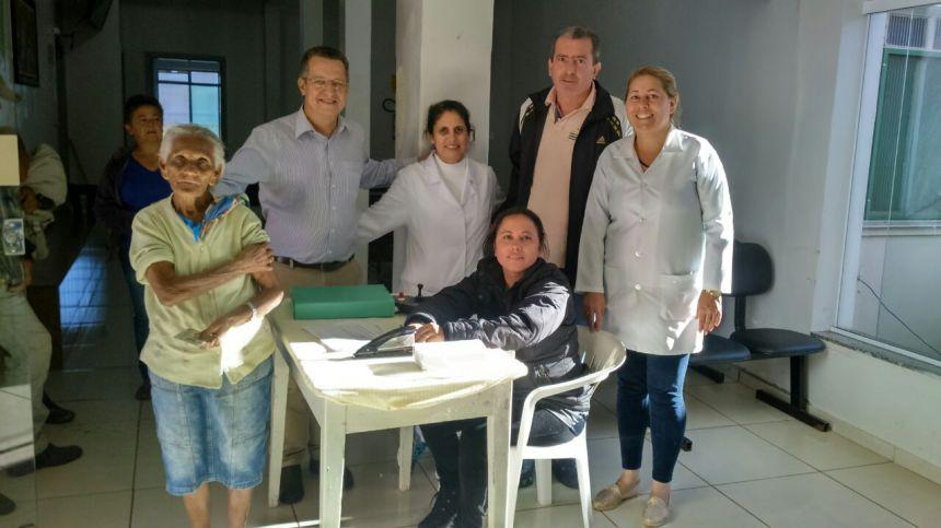 Vacinação contra gripe já atingiu 60% da meta em Peabiru